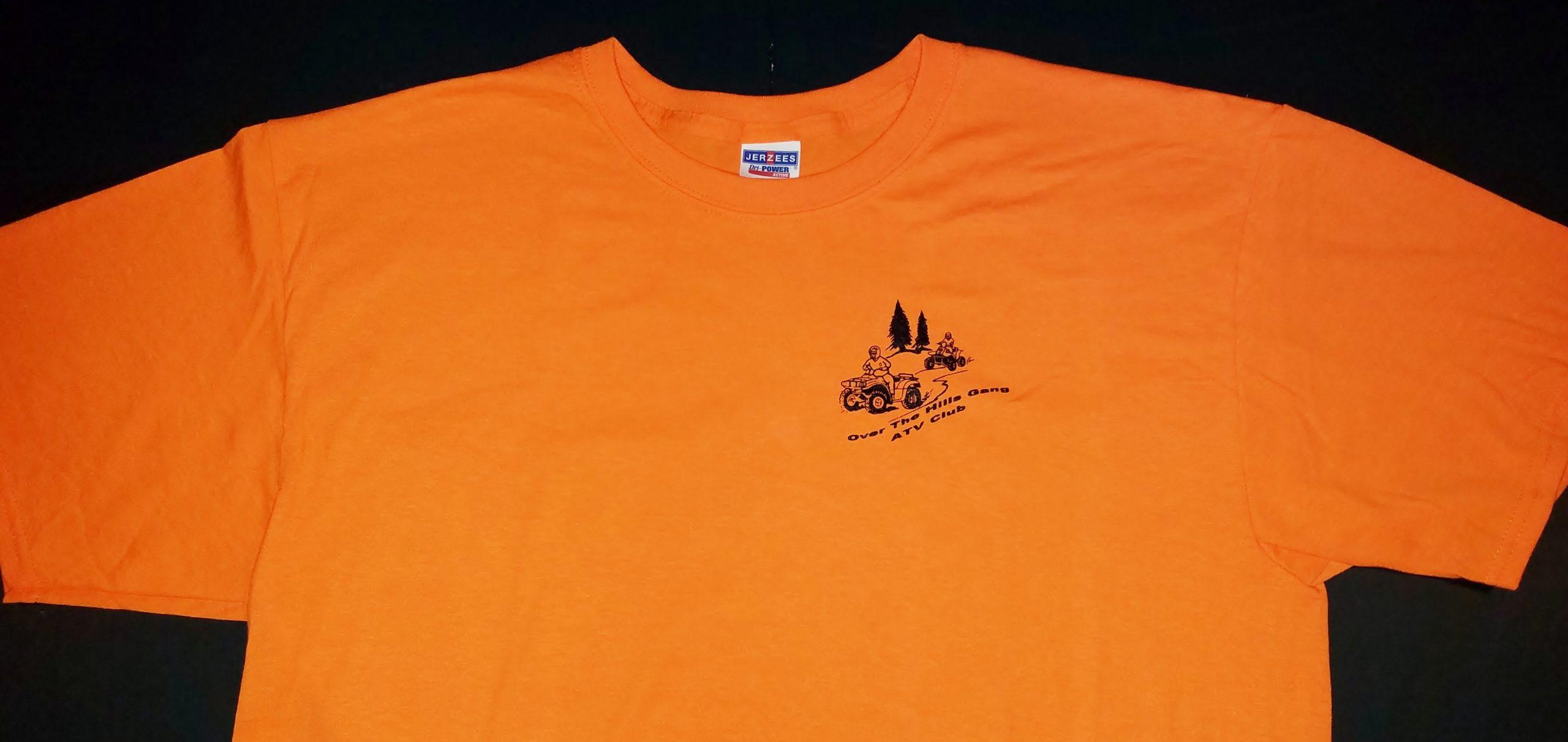 Club Logo Short Sleeve T-Shirt - Orange