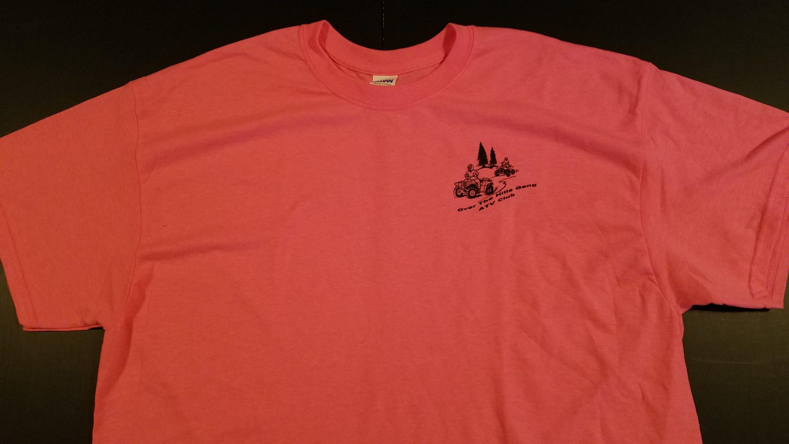 Club Logo Short Sleeve T-Shirt - Pink