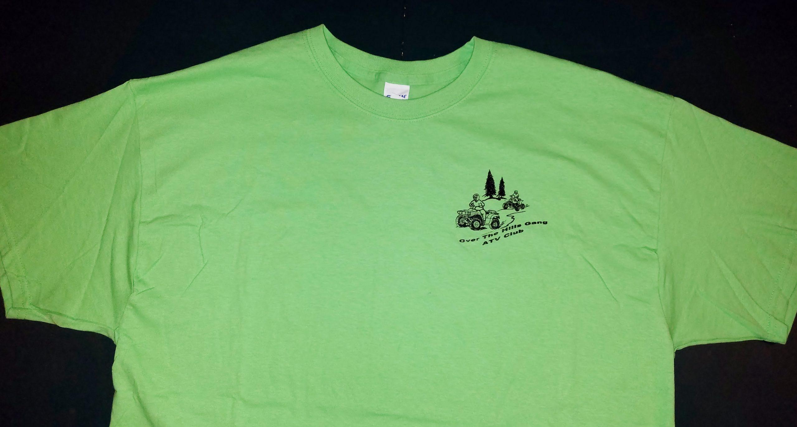 Club Logo Short Sleeve T-Shirt - Safety Green