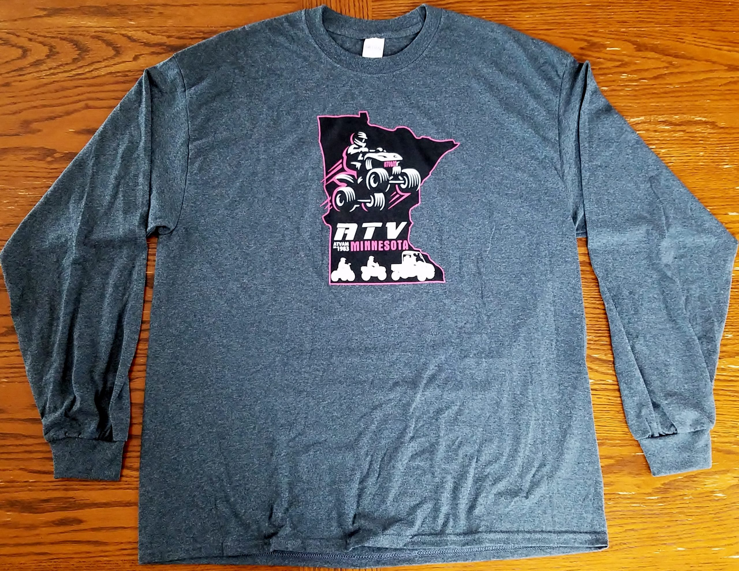 MN ATVAM Long Sleeve T-Shirt - Pink_Black