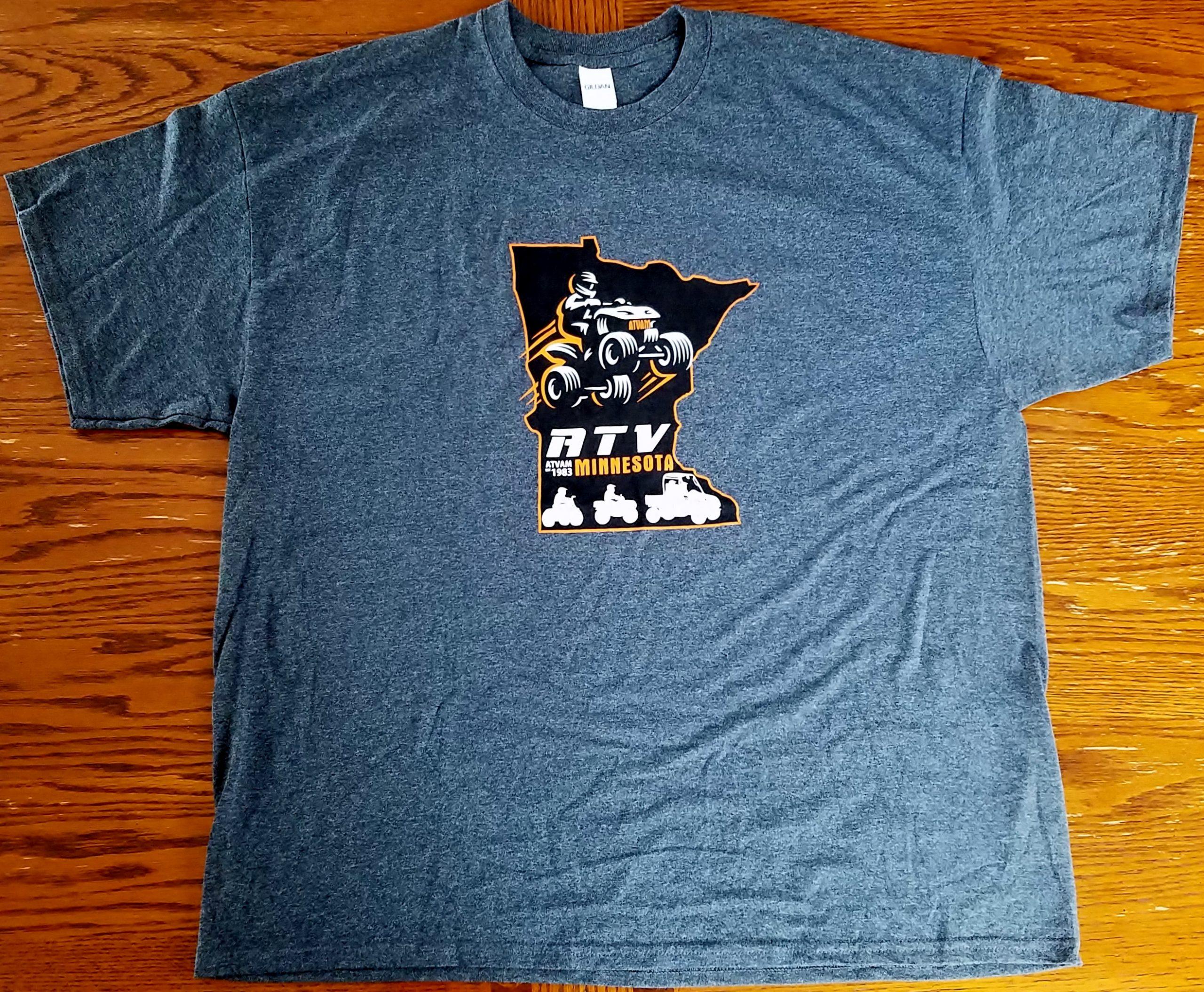 MN ATVAM Short Sleeve T-Shirt - Orange_Black