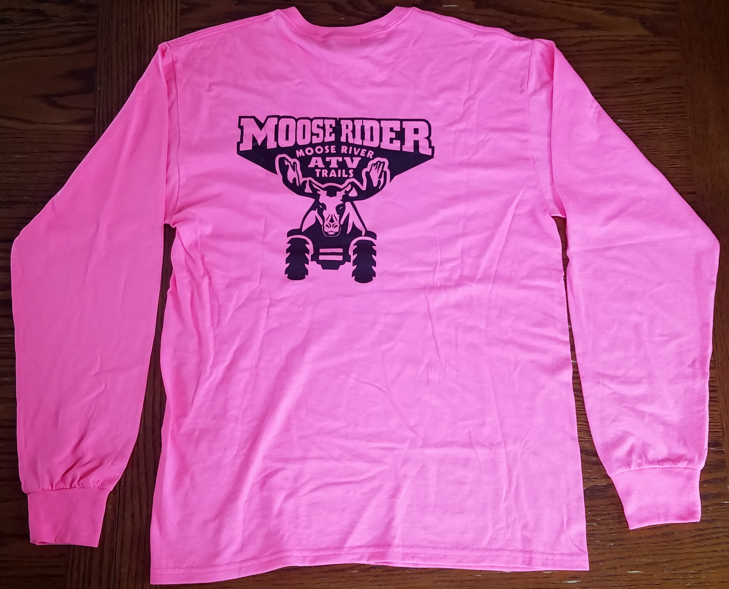 Mad Moose Long Sleeve T-Shirt - Pink
