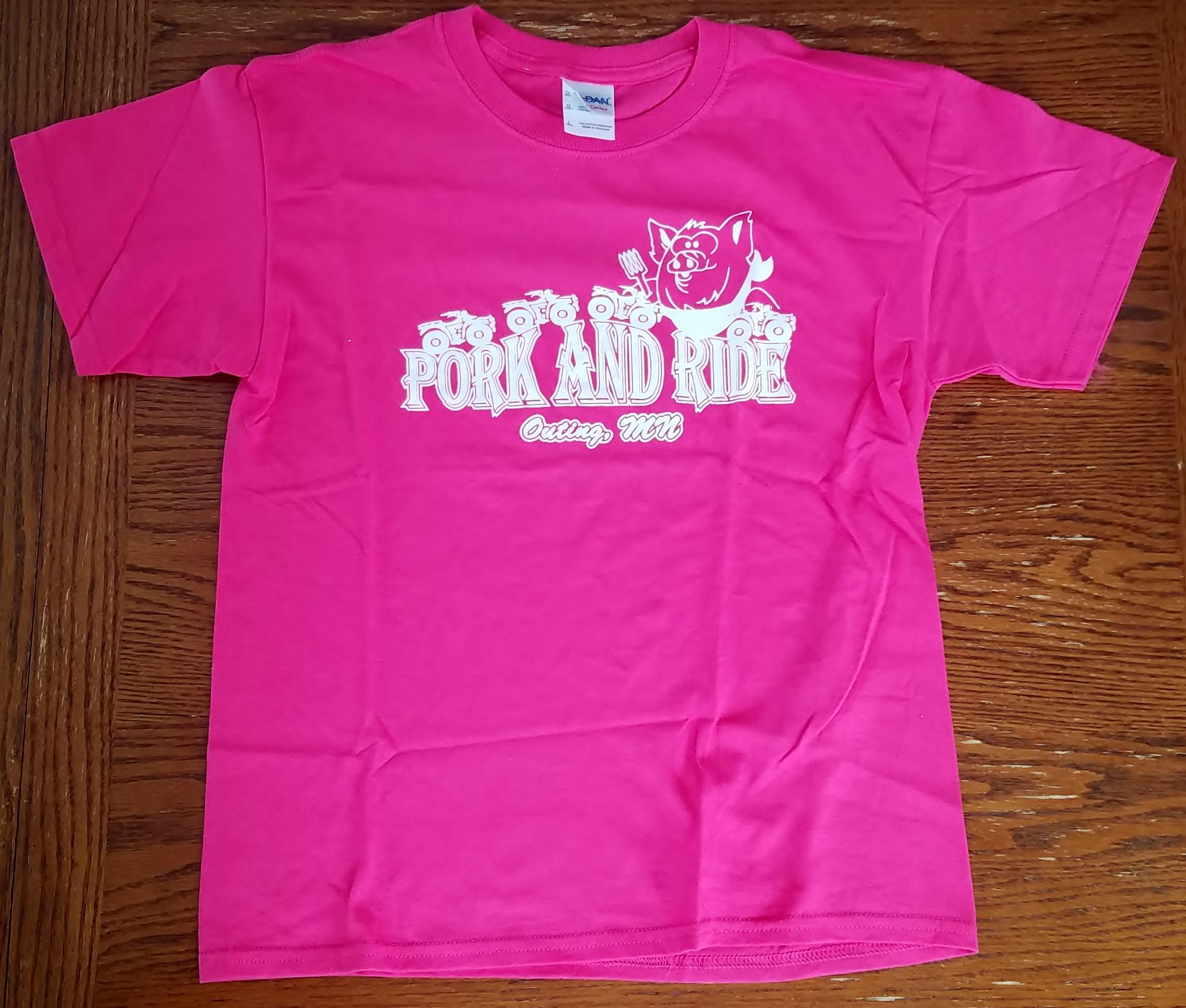 Youth Pork-N-Ride T-Shirt - Fascia