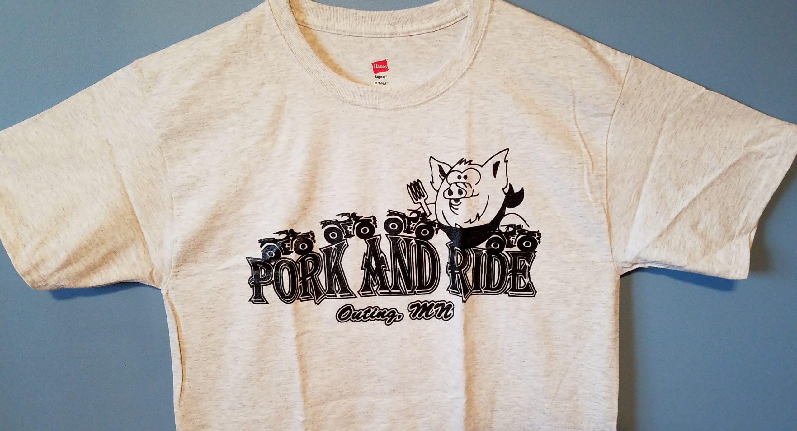Youth Pork-N-Ride - Gray