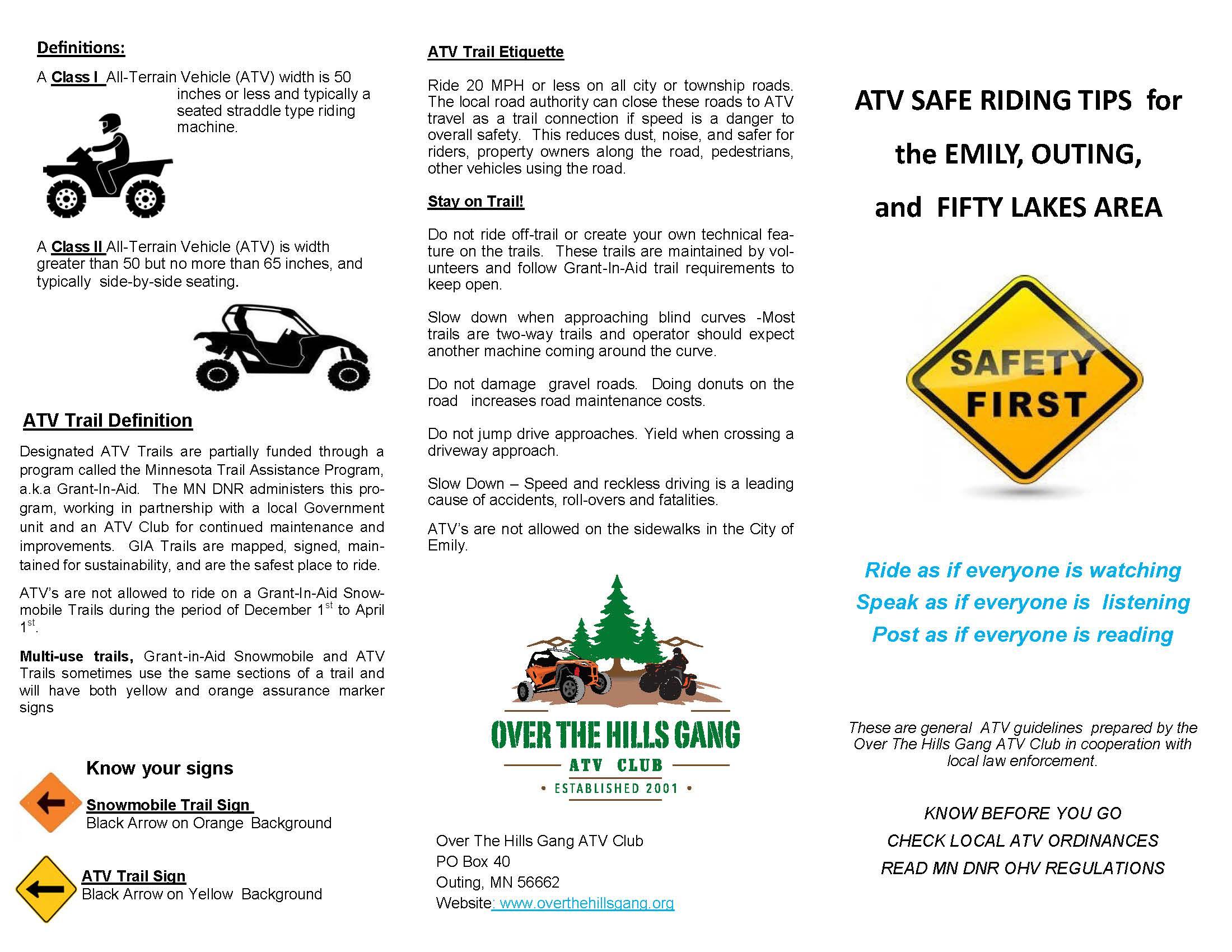 2021 OTHG Safety Brochure1
