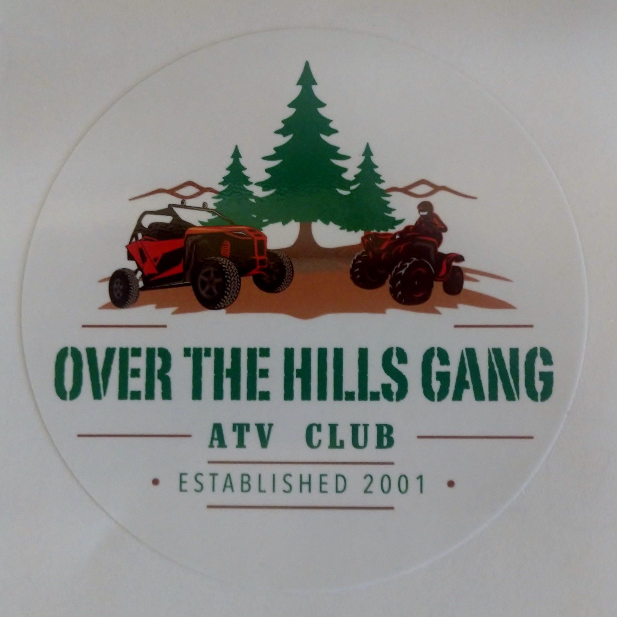 OTHG 3inch & 6inch Round Logo Sticker