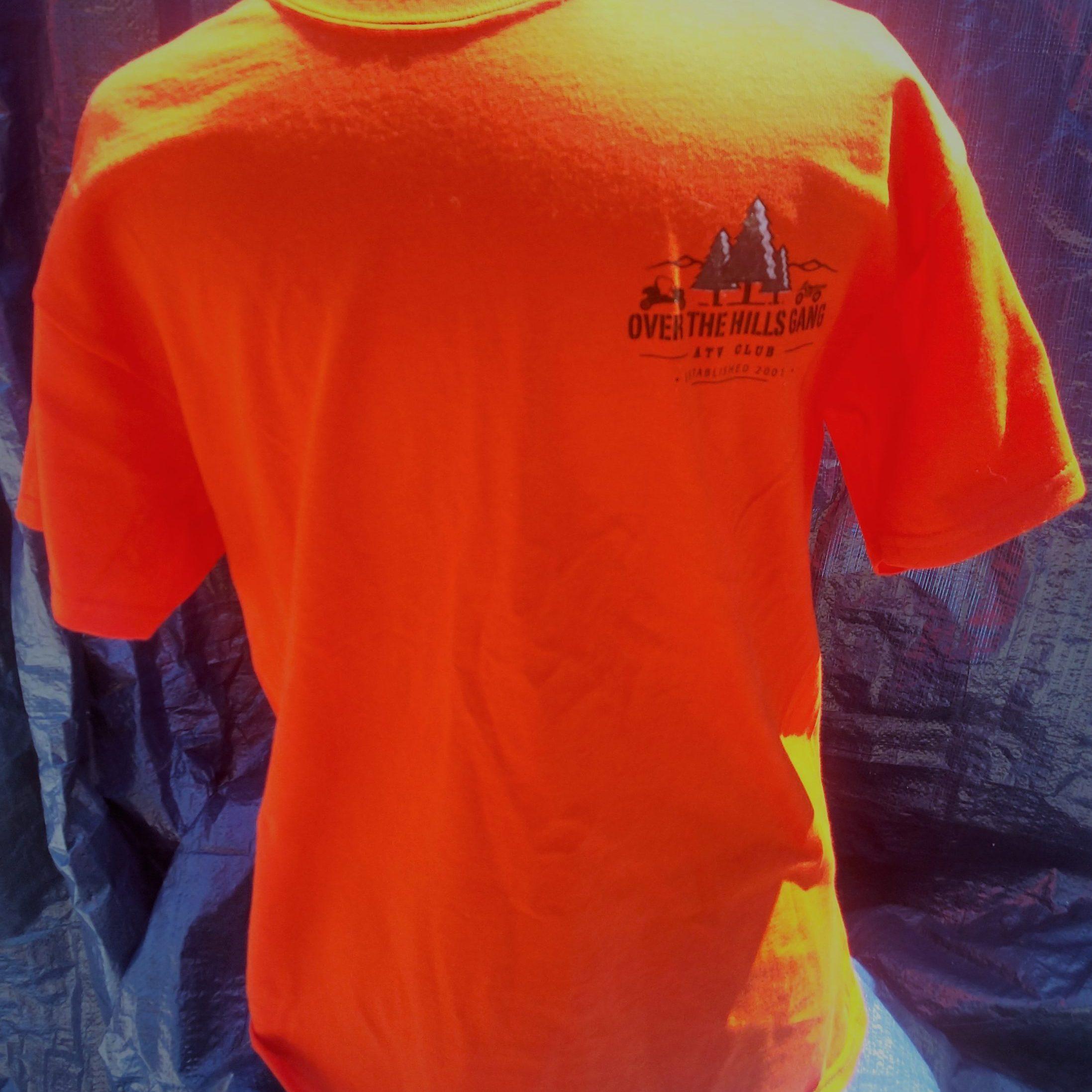 OTHG Club Logo T-Shirt - Safety Orange (2)